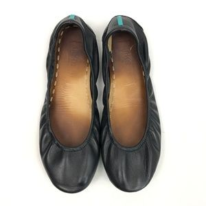 Tieks Black Matte Leather Size 11